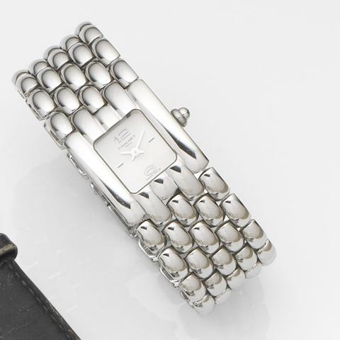 Chaumet. A lady's stainless steel quartz bracelet watchKhesis, Case No.22K9394, Circa 2008