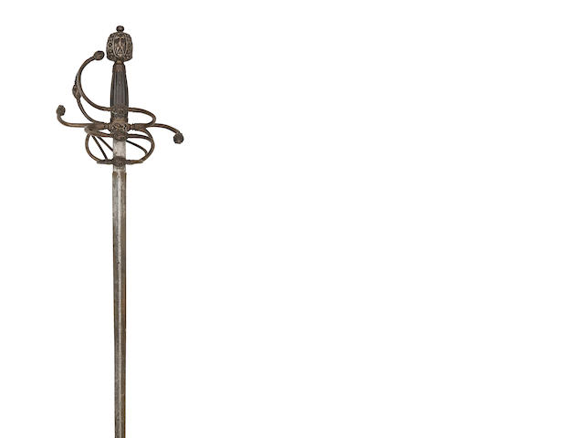 A Swept-Hilt Rapier In Early 17th Century Style
