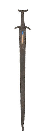 A Viking Sword Of Petersen Type L (Variant)