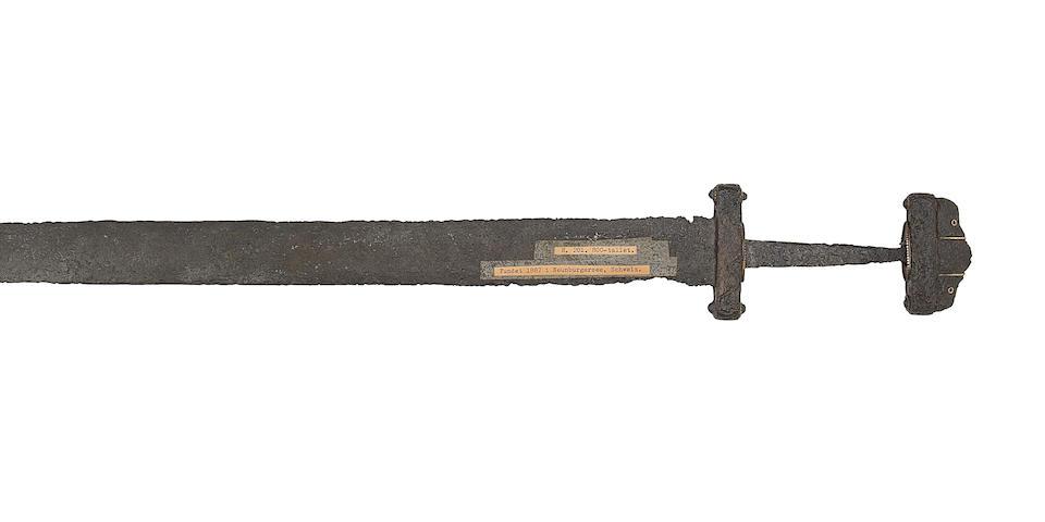 A Rare Viking Sword Of Petersen Type D