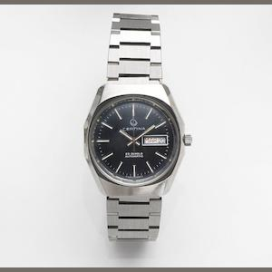 Certina. A stainless steel automatic calendar bracelet watch Circa 1975
