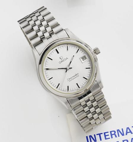 Omega. A stainless steel automatic calendar bracelet watchSeamaster Automatic, Ref:166.0263, Movement No.42415897, Circa 1979