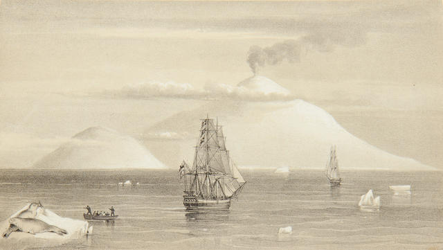 ROSS (Sir JAMES CLARK) A Voyage of Discovery and Research in the Southern and Antarctic Regions, 2 vol., FIRST EDITION, 1847