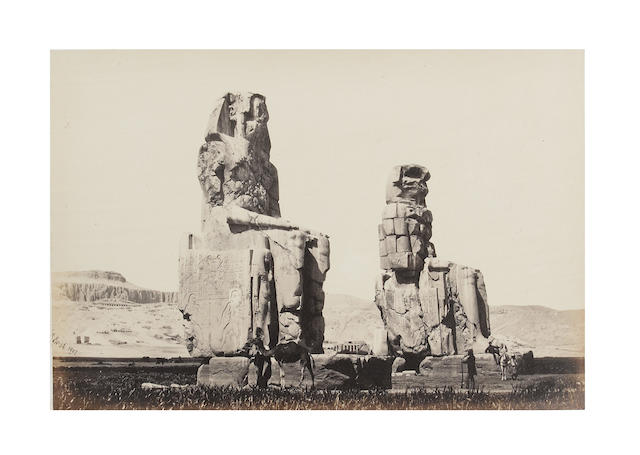 FRITH (FRANCIS) Egypt and Palestine Photographed and Described, 2 vol., James S. Virtue, [1858-1859]