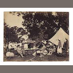 HOOPER (WILLIAM WILLOUGHBY)] A group of approximately 40 images, several by William Willoughby Hooper, 1869 and later (44)