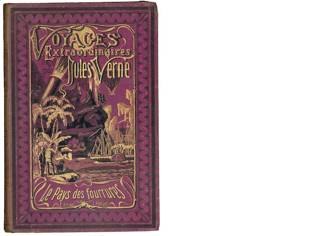 VERNE (JULES) Vingt mille lieues sous les mers, 1877; and another by Verne, later editions (2)