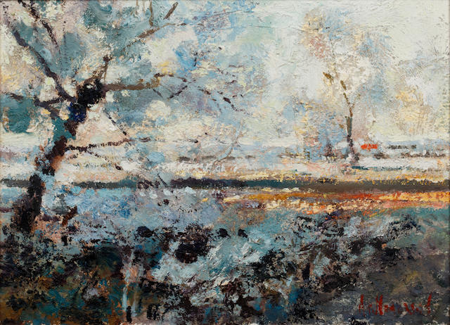 Arthur K. Maderson (Irish, born 1942) 'Frosty Dawn'