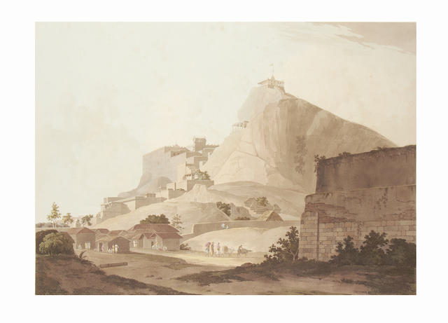 DANIELL (THOMAS and WILLIAM) South East View of Tritchinopoly, 1798