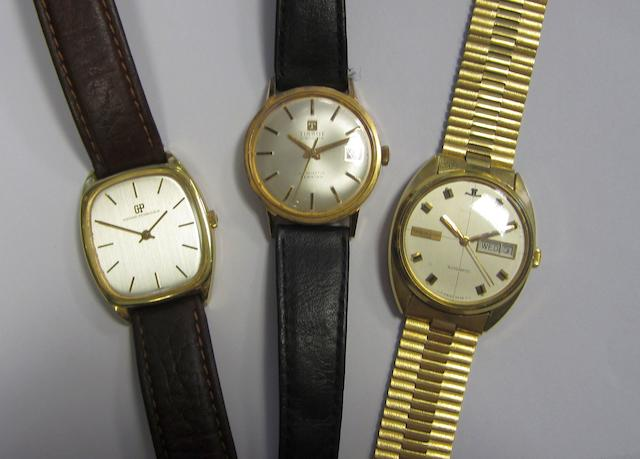 A lot of three various watches