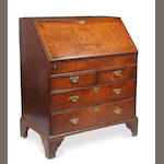 An 18th Century oak bureau