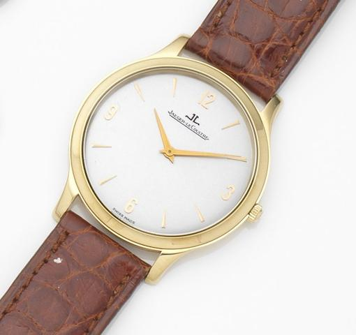 Jaeger-LeCoultre. An 18ct gold manual wind wristwatchMaster, Ref:145.1.79, Case No.0235, Movement No.2636578, Circa 2000