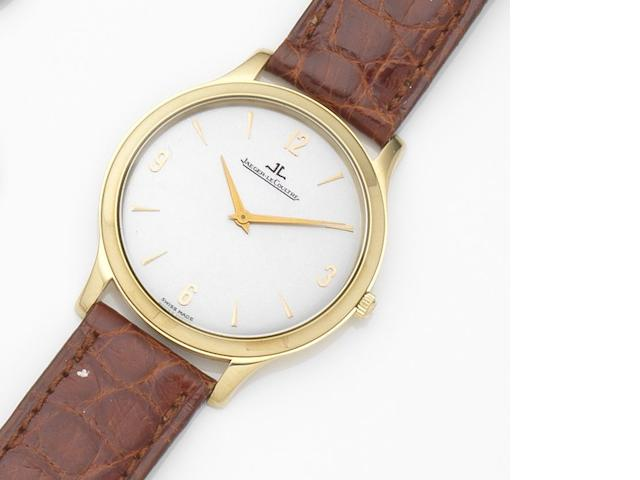 Jaeger-LeCoultre. An 18ct gold manual wind wristwatch Master, Ref:145.1.79, Case No.0235, Movement No.2636578, Circa 2000
