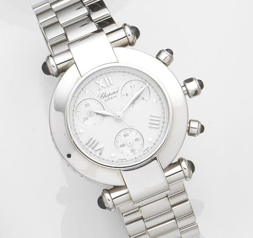 Chopard. A stainless steel quartz bracelet watch Imperiale, Ref:388389-23, Case No.841530 8378, Recent