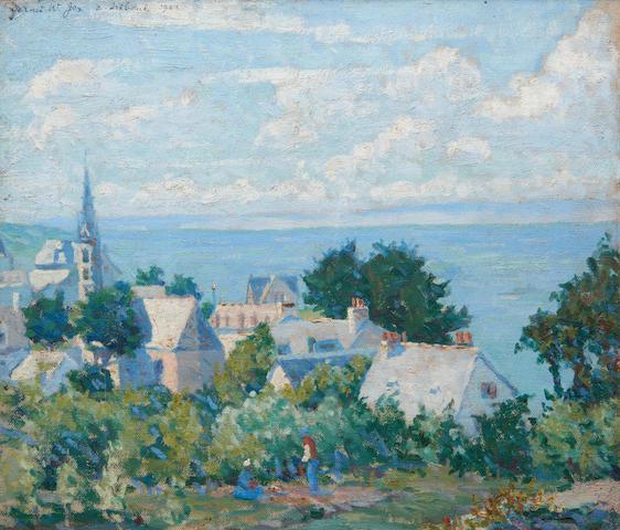 Attributed to Garnet W. Jex (American, 1895-1979) Tréboul, France
