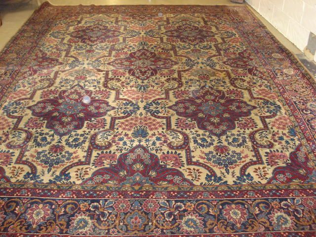 A Kirman carpet, South East Persia, 390cm x 291cm