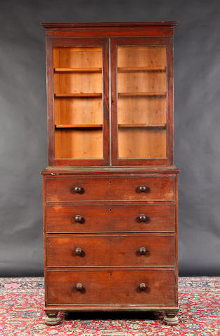 An early 19th Century mahogany bookcase,