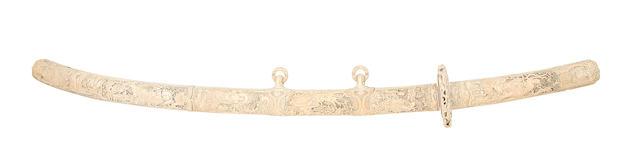 A Fine Ivory-Mounted Tachi