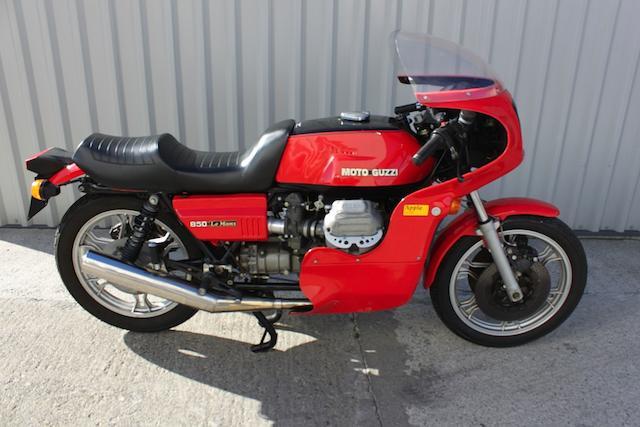 1977 Moto Guzzi 850cc Le Mans Frame no. 12743 Engine no. 71314