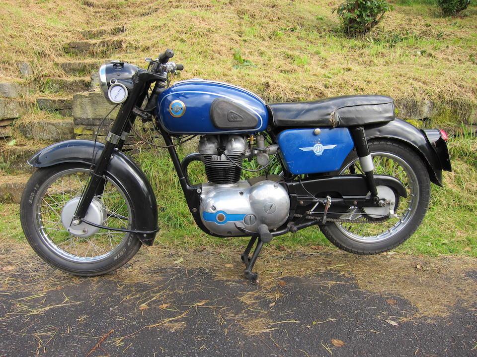 1962 AJS 250cc Model 14S Frame no. 13474 Engine no. 14S/11830