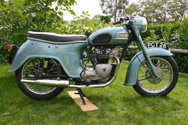 c.1959 Triumph 349cc Twenty One (3TA) Frame no. (see text) Engine no. H10010