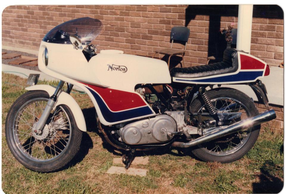 2,185 miles from new,1974 Norton 749cc John Player Commando 'Short-Stroke' Frame no. 317783 Engine no. 317783