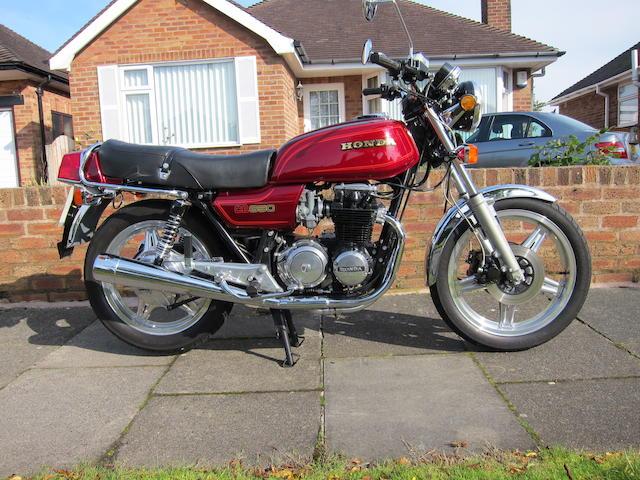 1980 Honda CB650Z Frame no. RC03-2003526 Engine no. RC03E-2003576