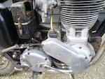 1956 Ariel 499cc HT5 Trials Motorcycle Frame no. RT 150 Engine no. MT 150
