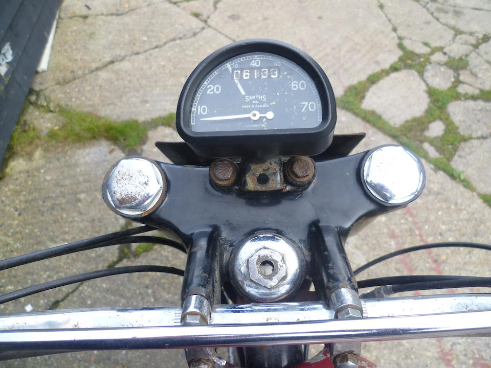 1956 Ariel 499cc HT5 Trials Motorcycle Frame no. RT 150 Engine no. MT 150