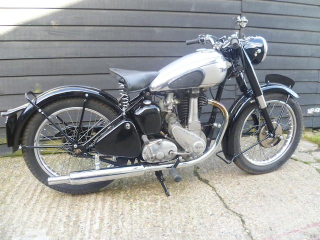 1947 BSA 499cc B33 Frame no. B31 9559 Engine no. XB33 815
