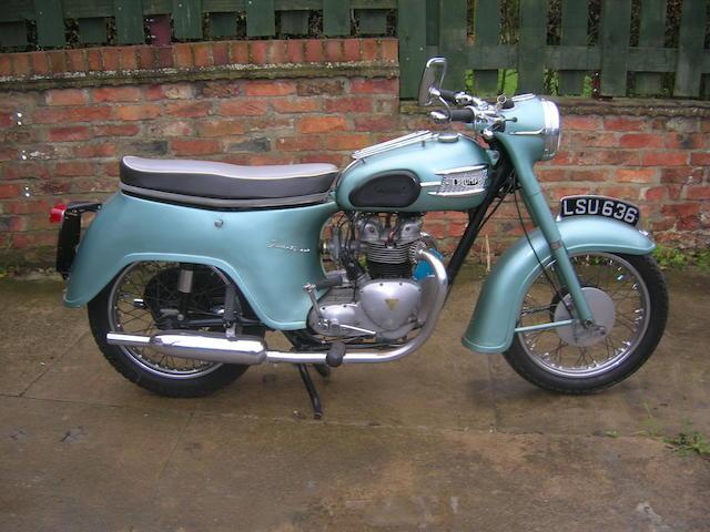 c.1958 Triumph 349cc Twenty One (3TA) Frame no. 3TA H1453 Engine no. 3TA H8465