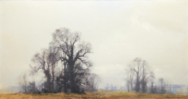 David Shepherd, O.B.E. (British, born 1931) Deep Winter