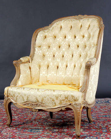 A Louis XV style chair
