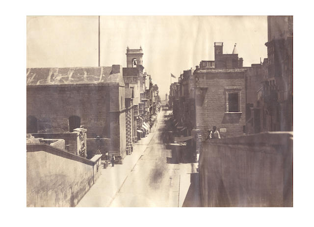 MALTA A group of 14 topographical and architectural views, [c.1875] (8)