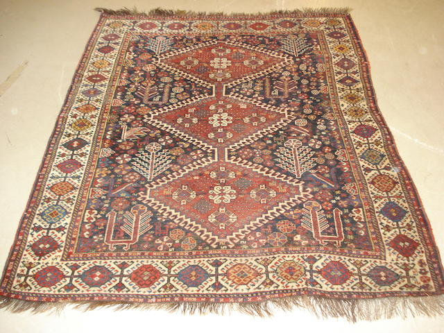 A Kashgai rug, South West Persia, 160cm x 135cm