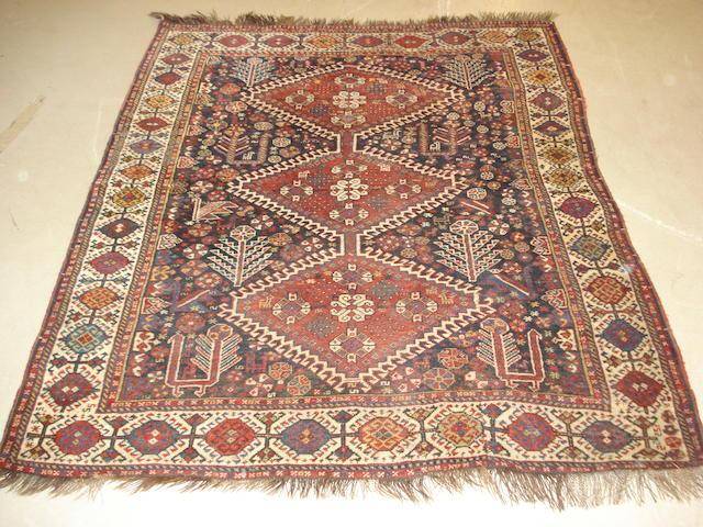 A Kashgai rug, South West Persia, 160cm x 135cm