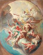 Carlo Innocenzo Carlone (Genoa 1686-1775 Scaria) The Apotheosis of Hercules