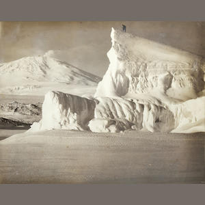 "PONTING (HERBERT GEORGE) ""Mount Erebus and Iceberg"", [8th October 1911]"