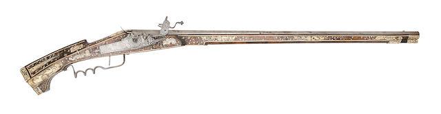 A German (Saxon) 18-Bore Wheel-Lock Sporting Gun
