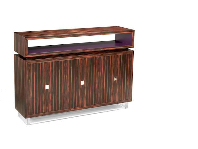 A David Linley rosewood sideboard