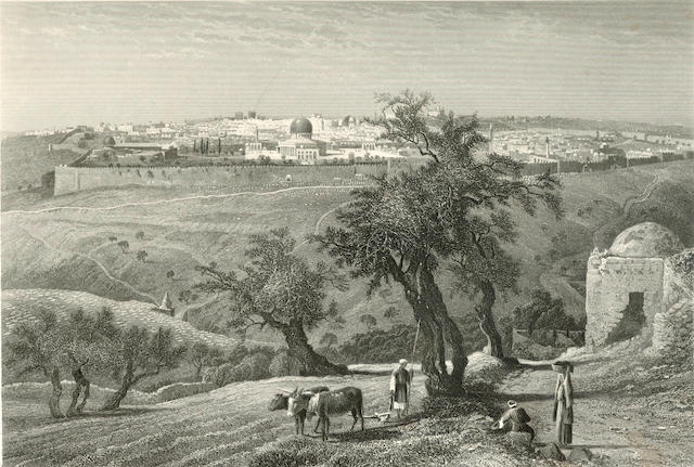 PALESTINE WILSON (CHARLES WILLIAM) Picturesque Palestine, 4 vol