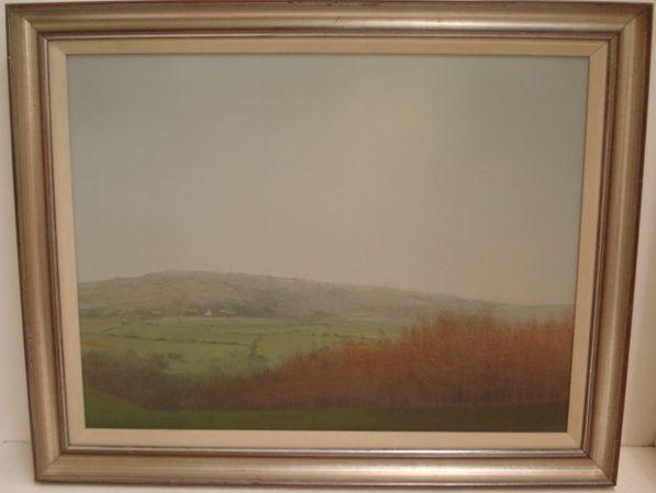John Miller (British, 1931-2002) Landscape 48 x 64cm.