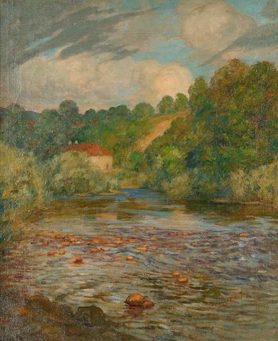 Rupert Bunny (1864-1947) French Landscape