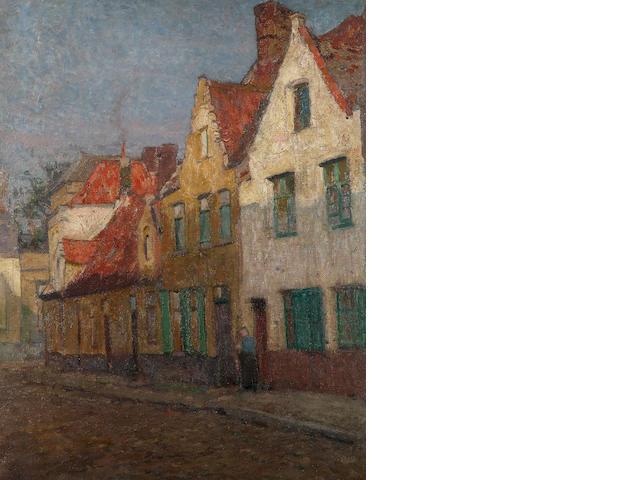 David Davies (1864-1939) Bruges