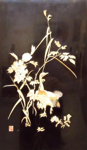 A shibayama panel Meiji
