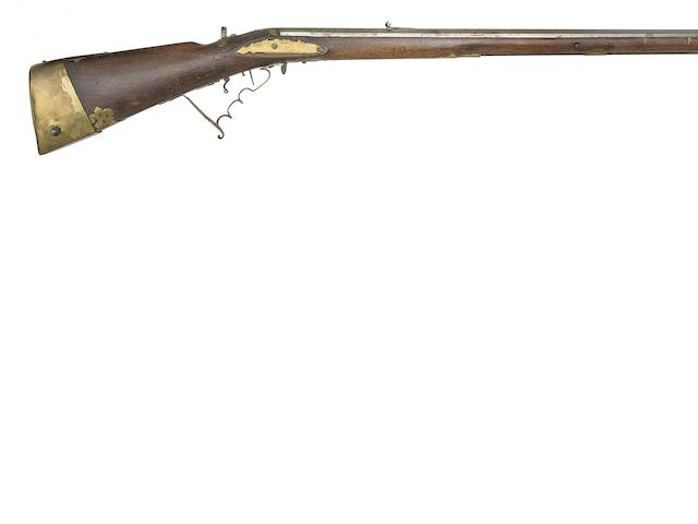A German Breech-Loading Bellows Air Gun Of Small Bore