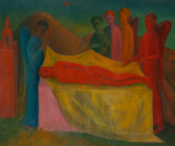 Justin O'Brien (1917-1996) Lamentation