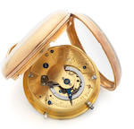 John Roger Arnold, London. An 18ct gold open face pocket watch No.3668, London hallmark for 1813