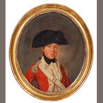 Circle of John Downman A.R.A (British, 1750-1824) A Young Ensign