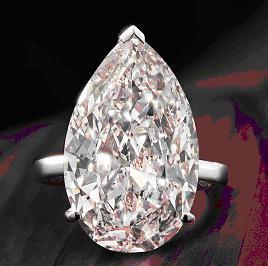 A magnificent diamond single-stone ring