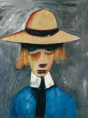 Charles Blackman (born 1928) Schoolgirl